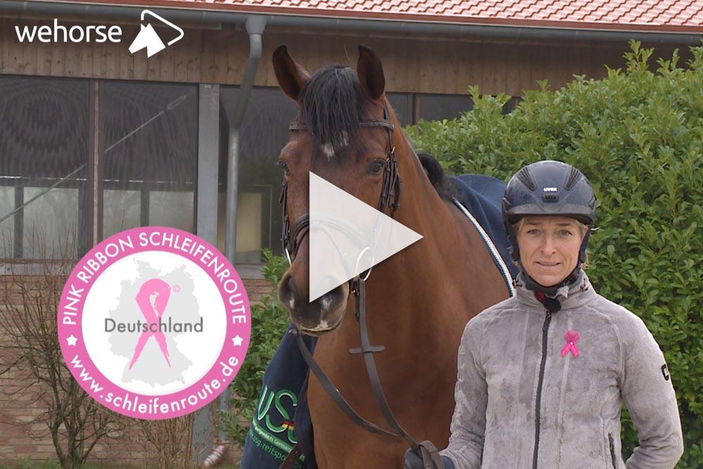 Ingrid Klimke für Pink Ribbon Deutschland